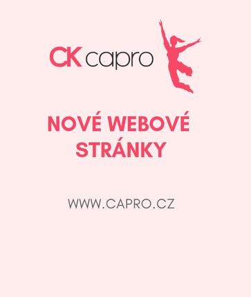 Nové webové stránky CK Capro