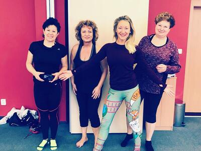 Reportáž z víkendového cvičení s Lenkou Rumianovou v hotelu Clarion