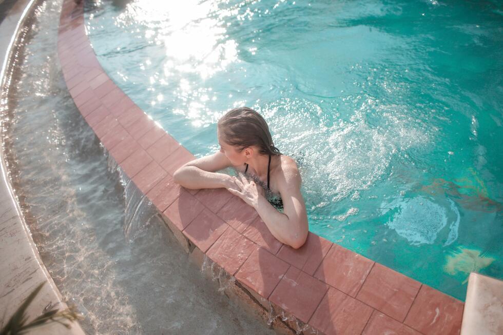 termální bazény v hotelu Lipa