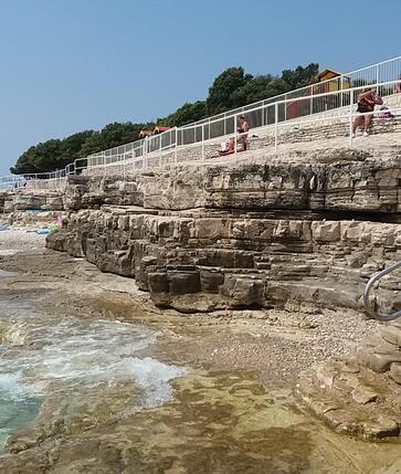 pláž Istrie
