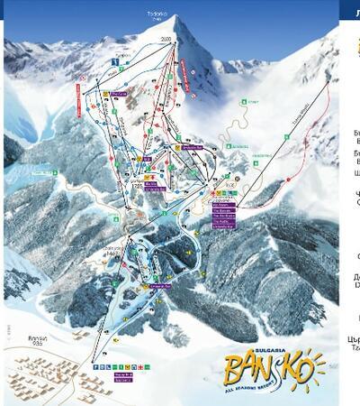bansko-skiareál