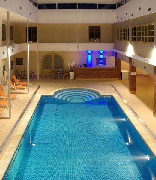 Wellness hotel Rezidence - bazén