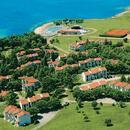Apartmány Polynesia - letecký pohled
