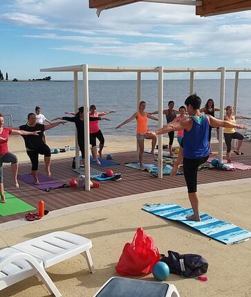 Cvičení v Polynesii